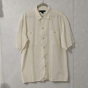 Honeywell & Todd Linen Cotton XL Button Down Shirt